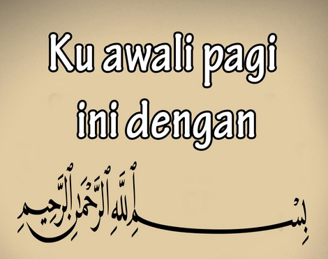 Ucapan Selamat Pagi Islami 4