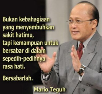 Kata kata Mutiara Cinta Mario Teguh 2