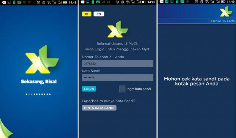 Cara Cek Nomor XL Sendiri dengan Aplikasi MyXL