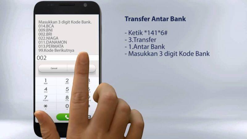Cara Transfer SMS Banking Mandiri
