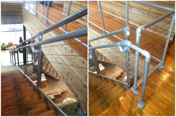 Galvanized Pipe Railing