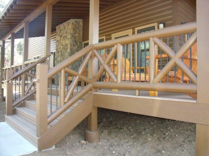 The X-Shaped Porch Railing