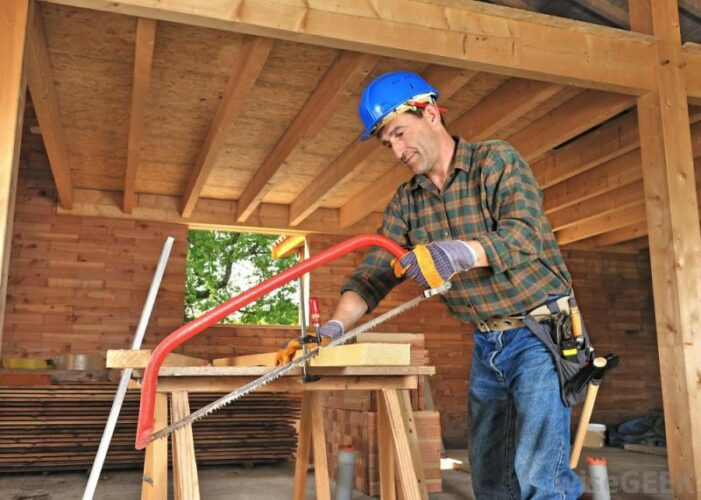 Profesi tukang kayu yang akurat jenis pekerjaan yang memerlukan tingkat ketelitian yang tinggi
